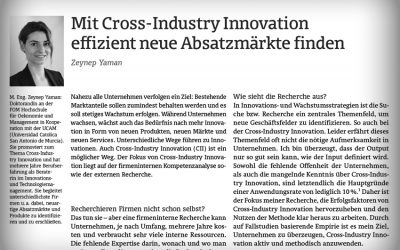 Cross-Industry Innovation Insights bei ideenmanagementdigital.de